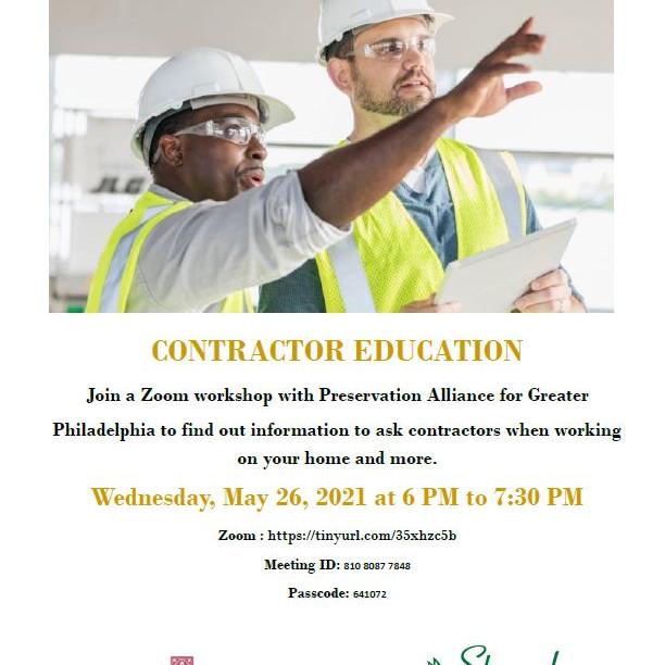 Contractor Education