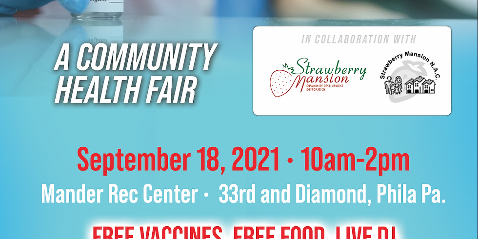 Strawberry Mansion Community Health Fair