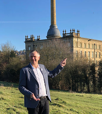 Sean Callery from Offbeat Cotswolds at Bliss Mill in Chipping Norton