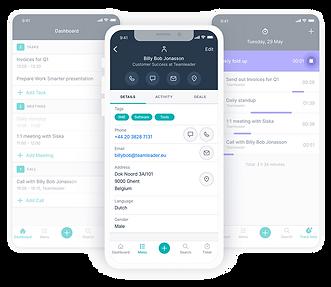 Teamleader mobiele app