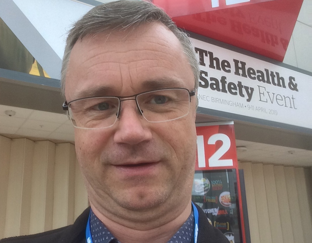 Our consultant at the Health and Safety Event 2019