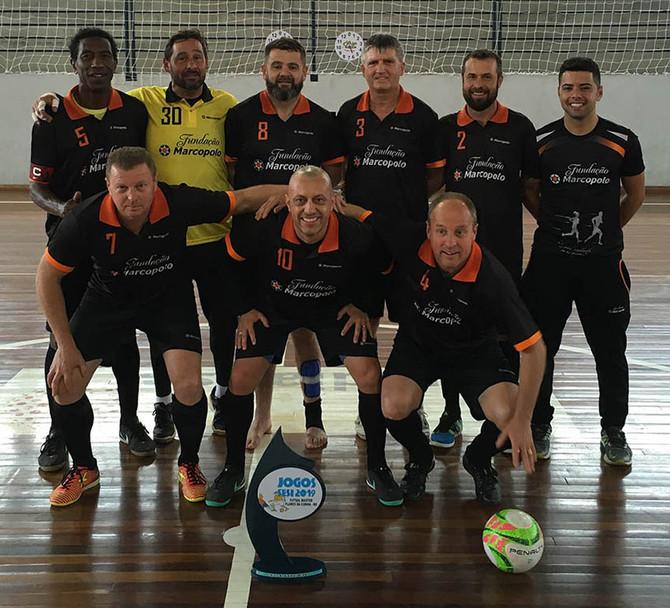 Marcopolo é campeã no futsal sênior do Sesi na temporada de 2019