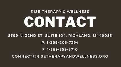 Contact Rise Therapy & Wellness