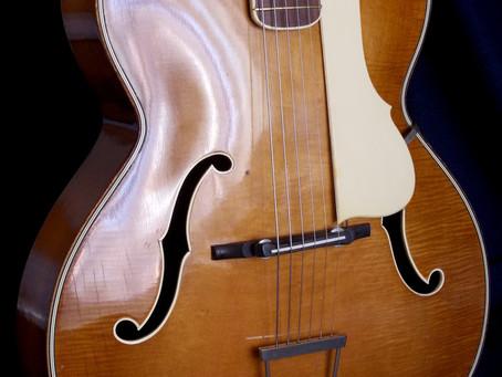 Hofner 456 model (1950-51), Moehrendorf.