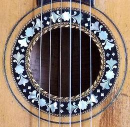 Guitarra de salón 1800´s (Viena).