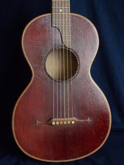 Parlor guitar 1800 (Guitar-lute))