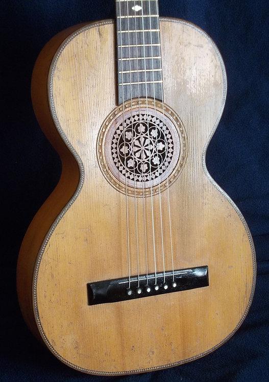 Guitarra de salón siglo XIX