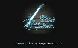 """""""Bluesguitar  & Co."""" Guitarras eléctricas Vintage años 60 y 70´s."""
