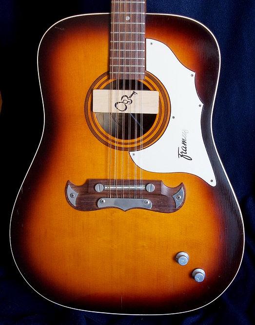 Framus Texan 12 Cuerdas 5/296 E EX.  1968