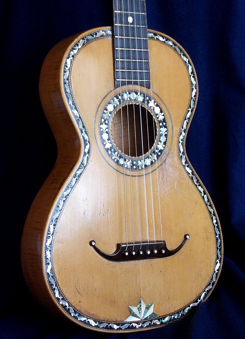 Guitarra de salón 1800