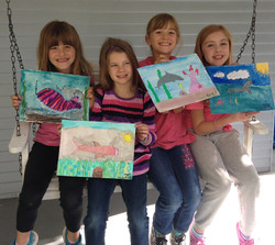 Some of my budding artists