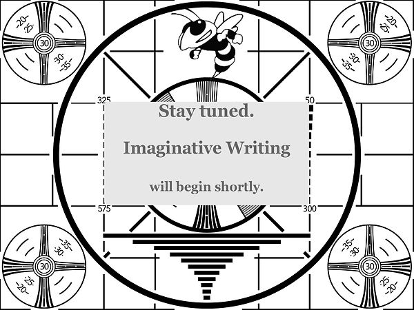 stayed tuned screen imaginative writing