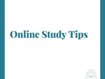 Tips to Ace your online classes