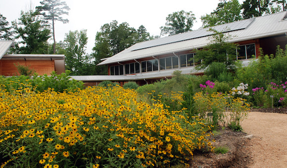 Education Building at the NC Botanical Gardens