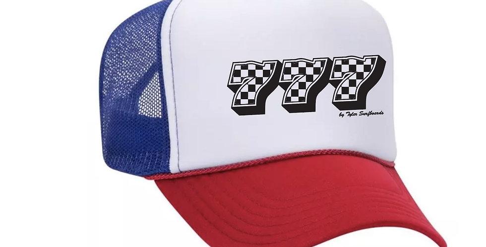 777 Red White Blue Trucker Hat