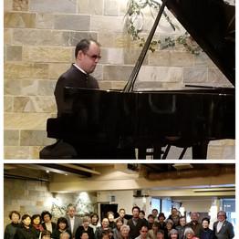 大阪で三連続の演奏会が行われました。