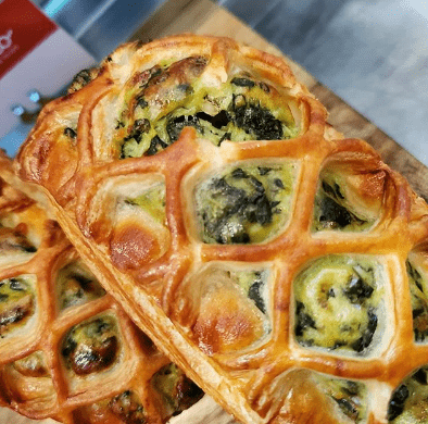 Feta Pastry Spinach and Feta Cheese Pastries