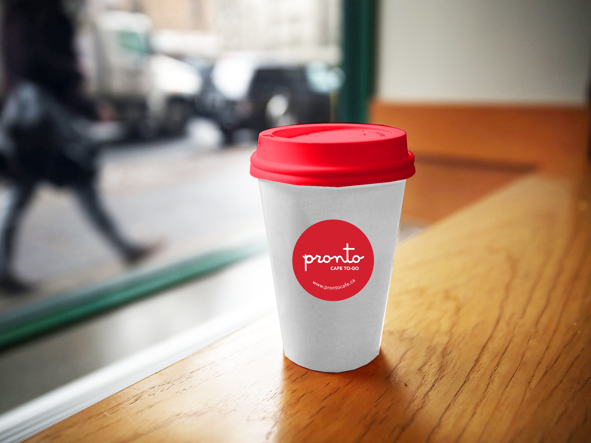 Lavazza Coffee Cup at Pronto Cafe