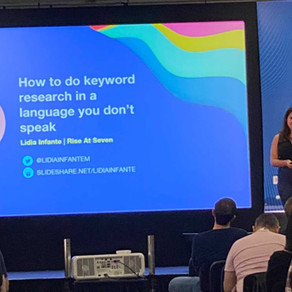 How to do keyword research in a language you don't speak (a BrightonSEO talk)