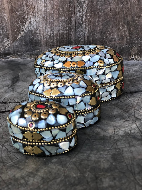 Porta joias Madrepérola