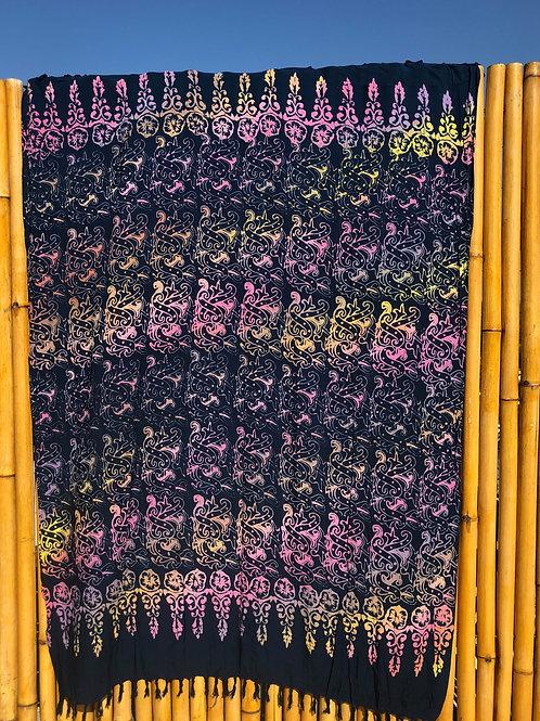 Canga de Bali Batik Dark blue