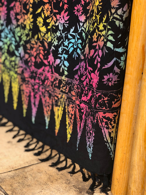 Canga de Bali Batik Preta