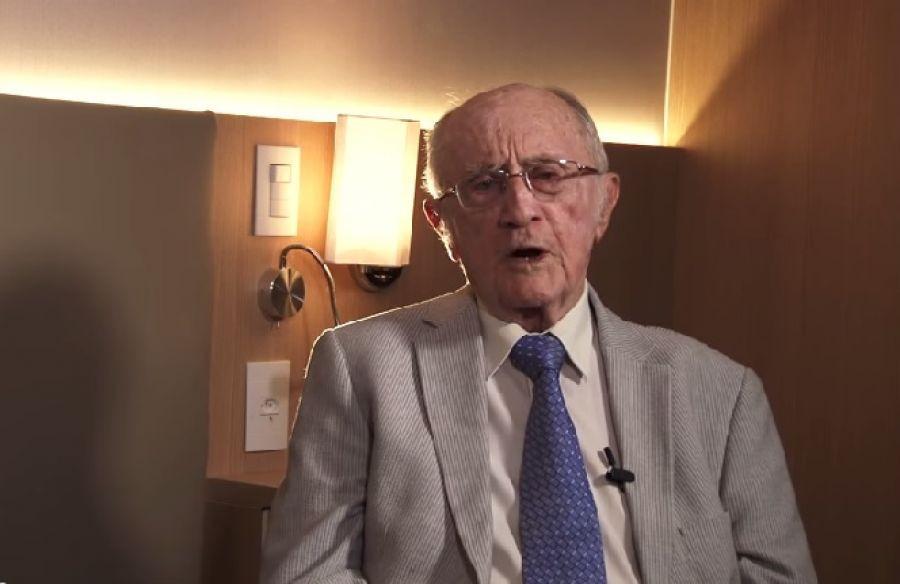 Bonavides, que aos 95 é jurista e trabalha pela isonomia, enquanto tem gente que reclama de assistir aula em EAD no quarto por conta da pandemia Fonte: STM