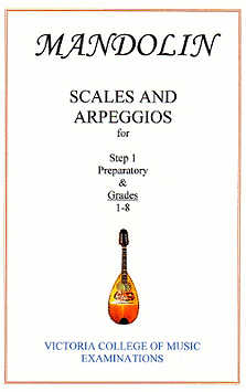 Victoria College of Music Mandolin Scales and Arpeggios book by John Peck
