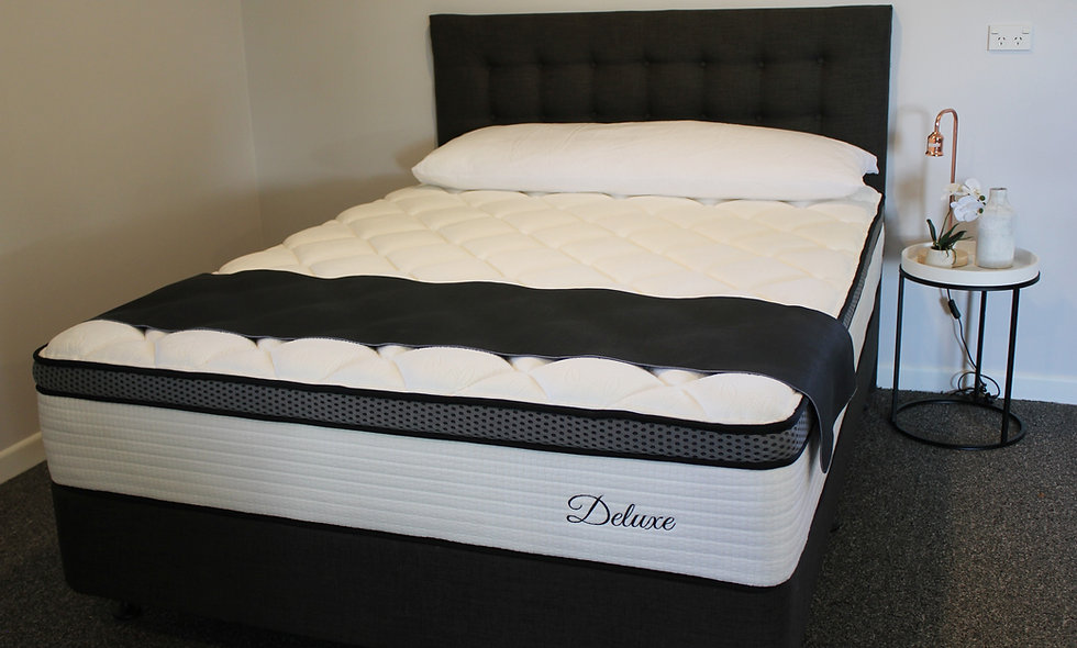 King Single - Deluxe Orthosupport NZ Wool Topper