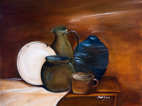 brown, blue, canvas print, white, male gift, antique, utensils, paintings, green, unusual gifts,