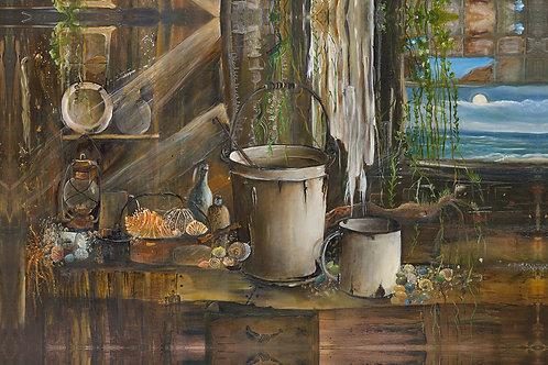 Abandon Fisherman's Cabin