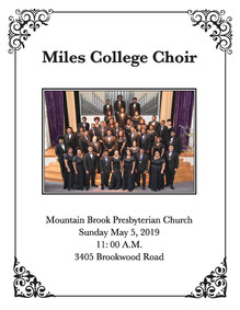 Miles College Choir at MBPC
