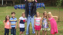 5K community garden scarecrow