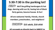 MBPC Preschool Block Party Fundraiser!
