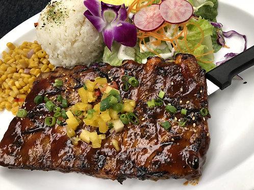 Slow Roasted BBQ Pork Ribs