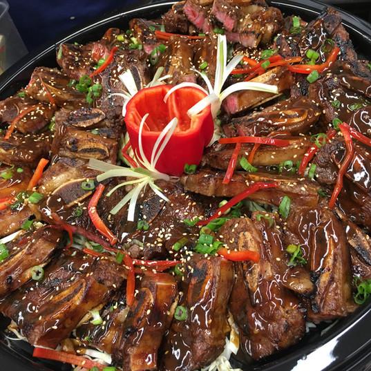 Teriyaki Glazed Steak