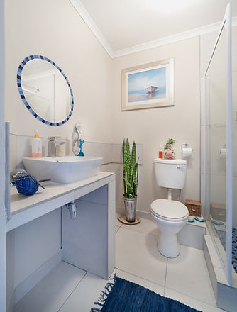 white-ceramic-toilet-bowl-beside-glass-w