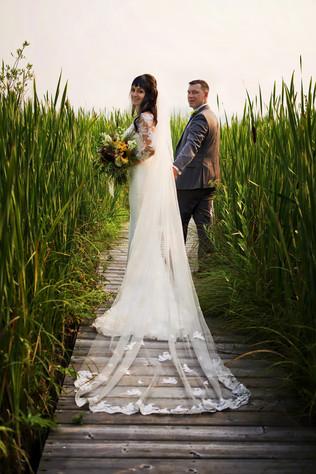 wedding rose lake canada