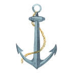 Nautical Lighthoue Anchor