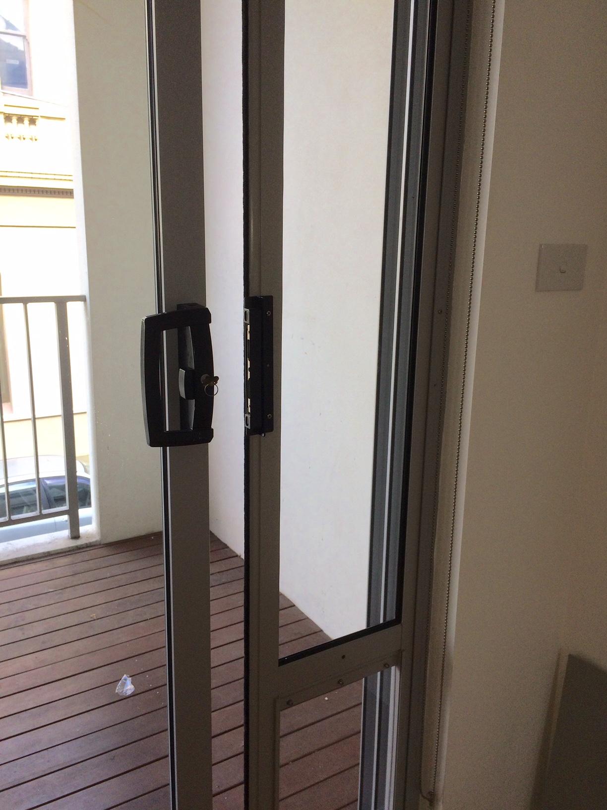 Locking Bracket Installed