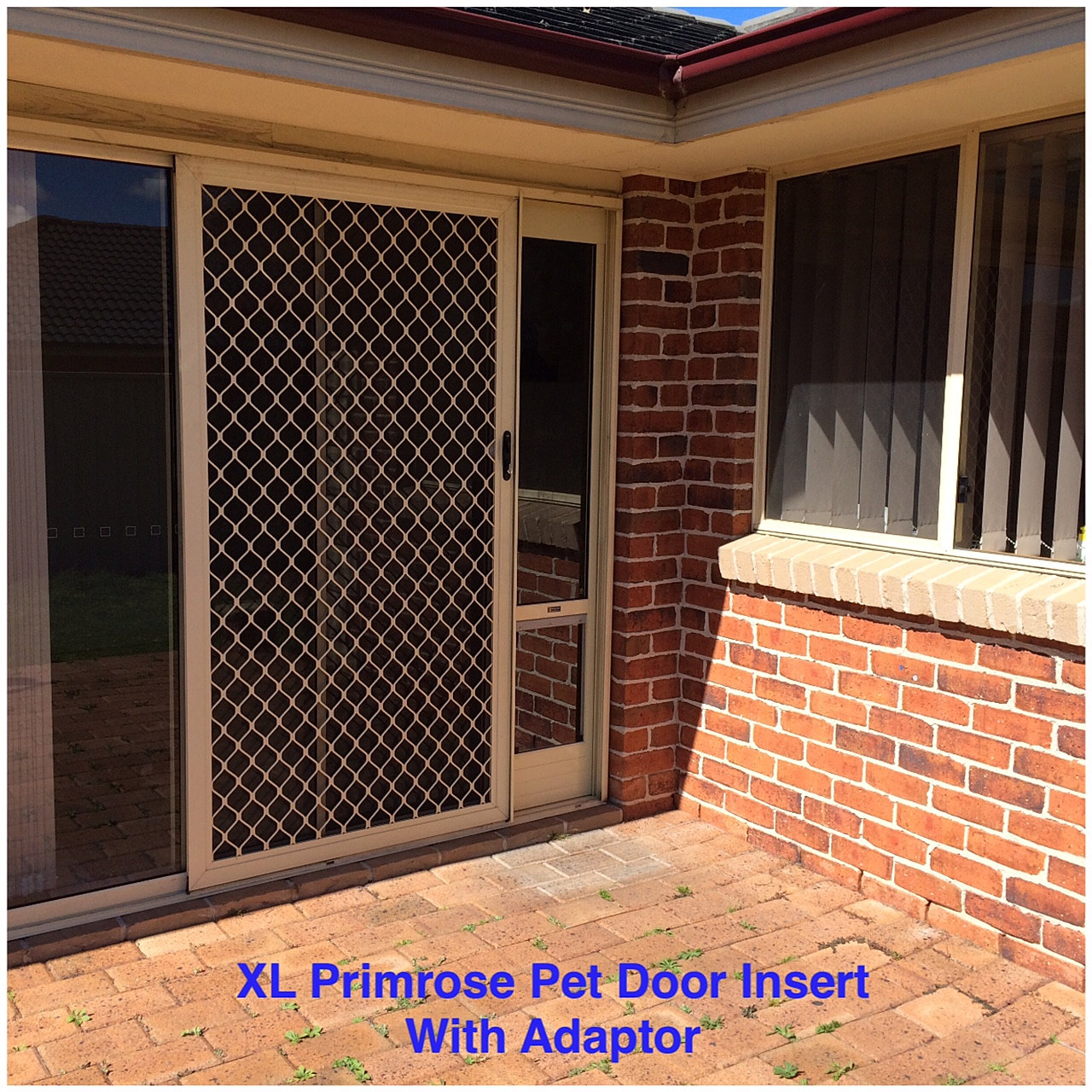 Patio Door Pet Door Insert: Patio Pet Door Inserts For Sliding Doors, Fully Lockable