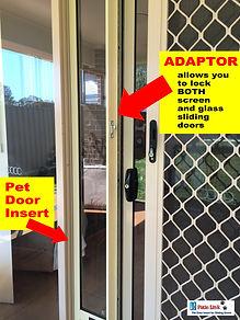 adaptor for sliding door