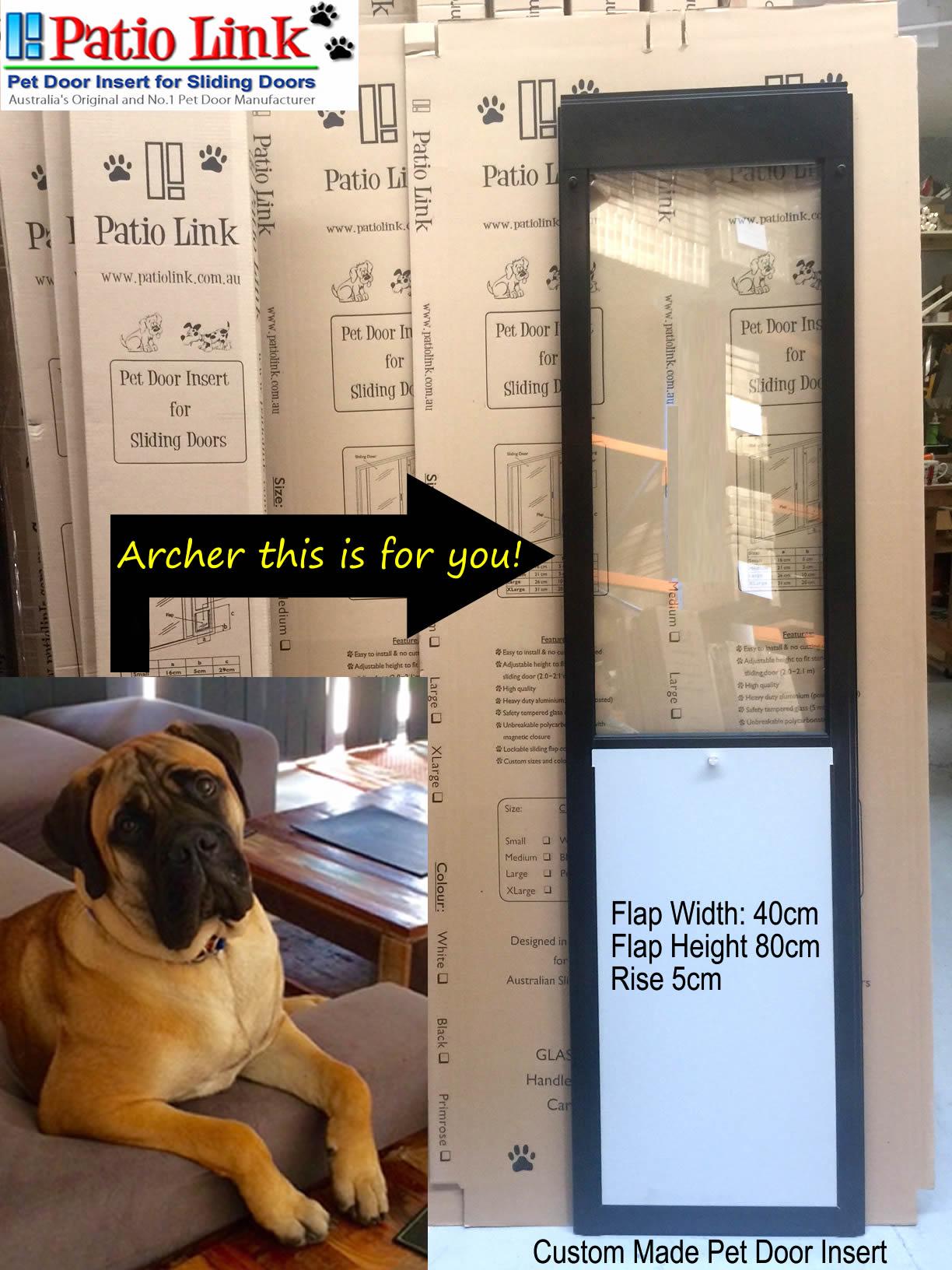 Patio Pet Door Inserts For Sliding Doors Fully Lockablefast Delivery