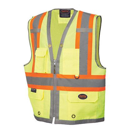 300D Oxford with Mesh Back Surveyor Vest