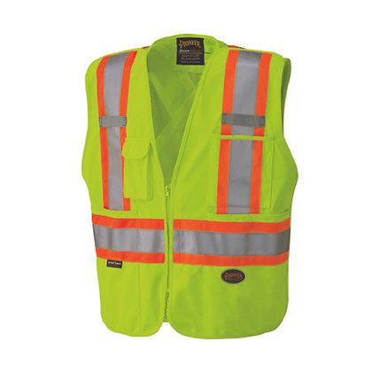 Zip-Up Snap Break Away Safety Vest
