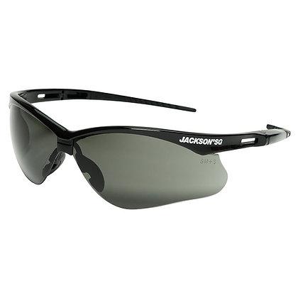 JACKSON SG with Black Frame and Smoke Mirror Anti-Fog Lens