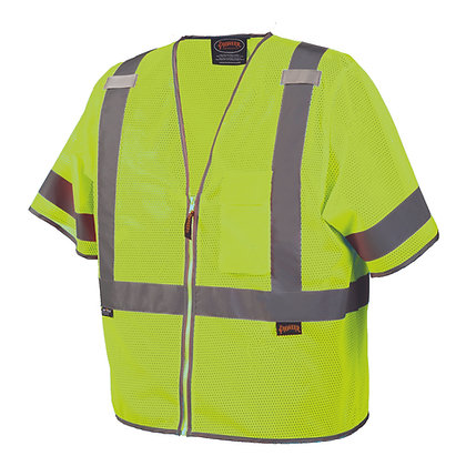 Mesh Short Sleeve Safety Vest