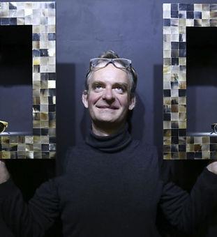 Benoit Ams SCMP Handmade Natural Horn Eyewear