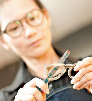 Handmade Horn Glasses Making