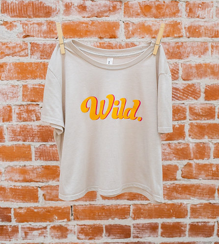 Wild Cropped Tee